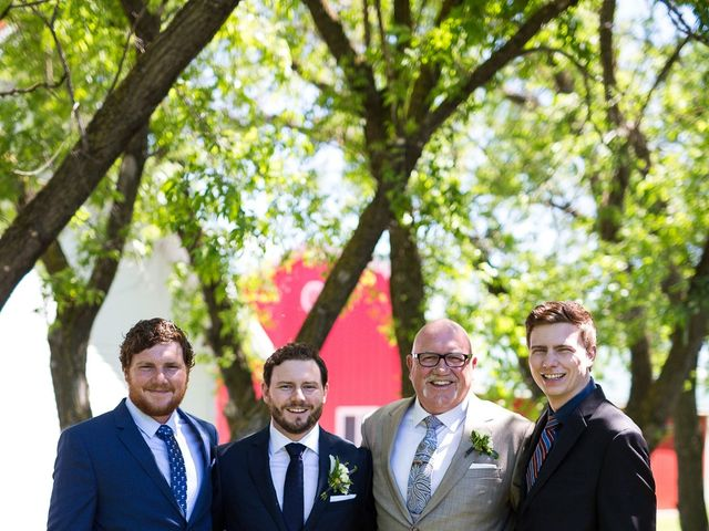 Eric and Celia's wedding in Niverville, Manitoba 23
