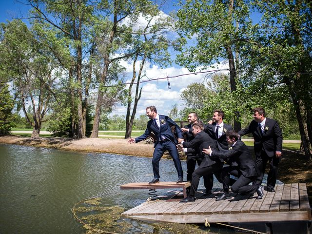 Eric and Celia's wedding in Niverville, Manitoba 25
