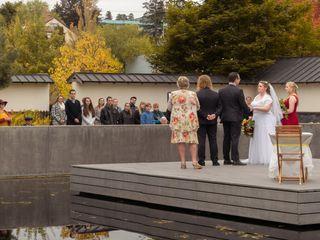 The wedding of James and Amanda 2