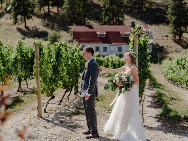 Andrew and Lindsay's wedding in Okanagan Falls, British Columbia 4