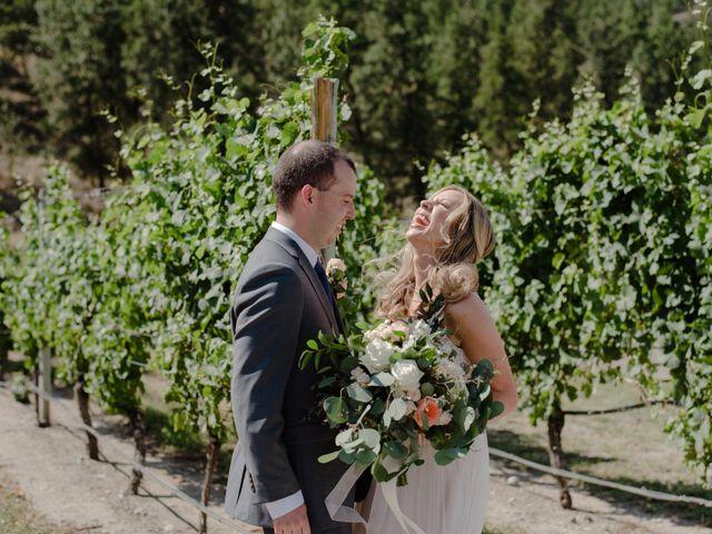 Andrew and Lindsay's wedding in Okanagan Falls, British Columbia 7