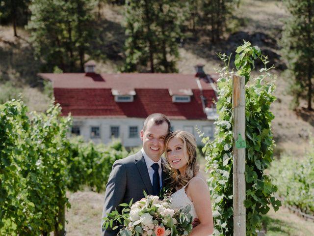 Andrew and Lindsay's wedding in Okanagan Falls, British Columbia 8