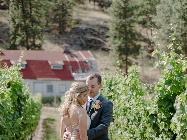 Andrew and Lindsay's wedding in Okanagan Falls, British Columbia 13