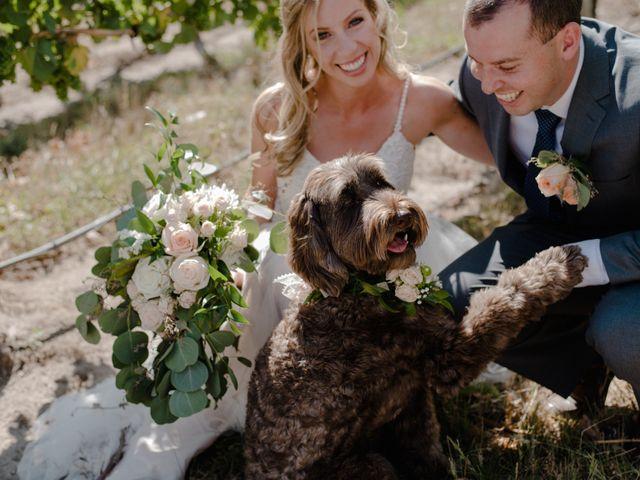 Andrew and Lindsay's wedding in Okanagan Falls, British Columbia 15