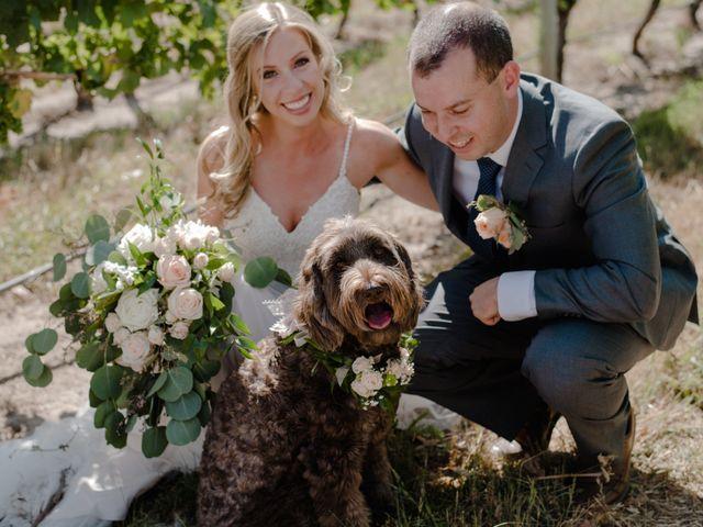 Andrew and Lindsay's wedding in Okanagan Falls, British Columbia 16