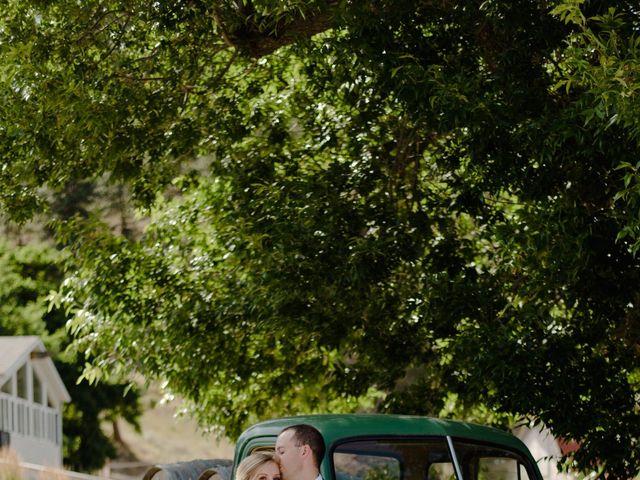 Andrew and Lindsay's wedding in Okanagan Falls, British Columbia 1