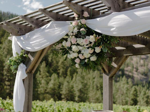 Andrew and Lindsay's wedding in Okanagan Falls, British Columbia 33