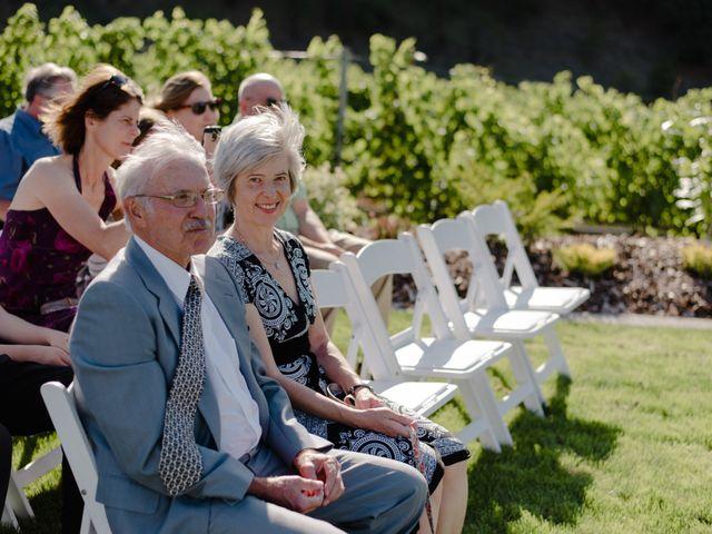 Andrew and Lindsay's wedding in Okanagan Falls, British Columbia 36