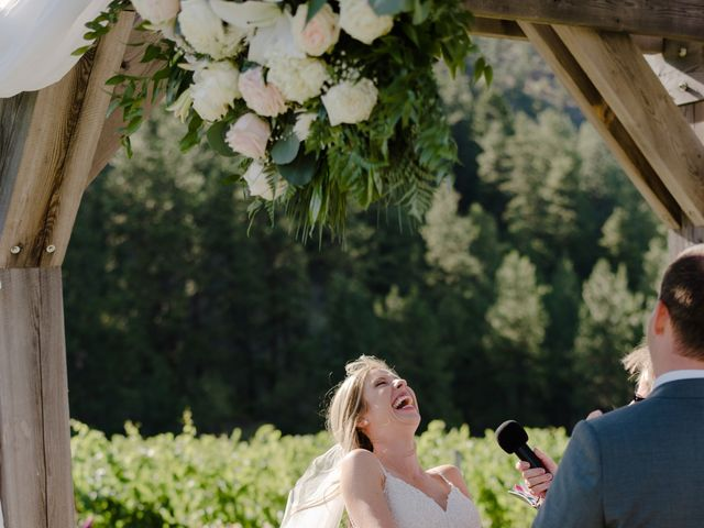 Andrew and Lindsay's wedding in Okanagan Falls, British Columbia 39