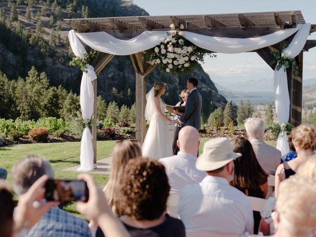 Andrew and Lindsay's wedding in Okanagan Falls, British Columbia 41