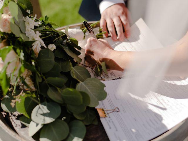 Andrew and Lindsay's wedding in Okanagan Falls, British Columbia 42