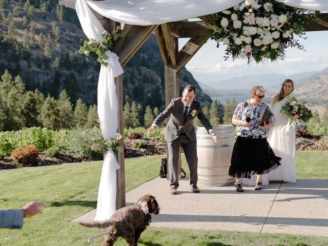 Andrew and Lindsay's wedding in Okanagan Falls, British Columbia 43