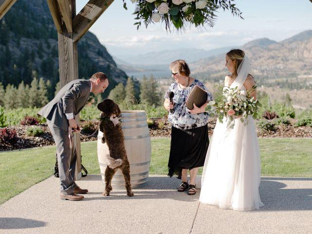 Andrew and Lindsay's wedding in Okanagan Falls, British Columbia 44