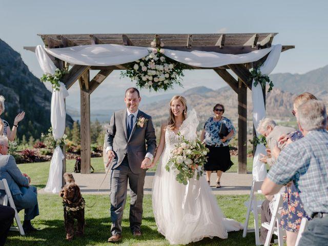 Andrew and Lindsay's wedding in Okanagan Falls, British Columbia 45