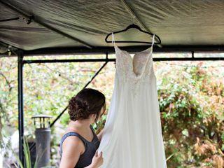 The wedding of Pamela & Curtis and Rainy Day Wedding 1