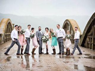 The wedding of Pamela & Curtis and Rainy Day Wedding