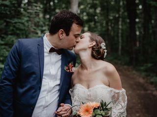 The wedding of Caroline and Alex