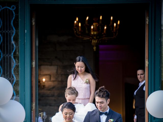 Bandry and Adrien's wedding in Dorval, Quebec 14