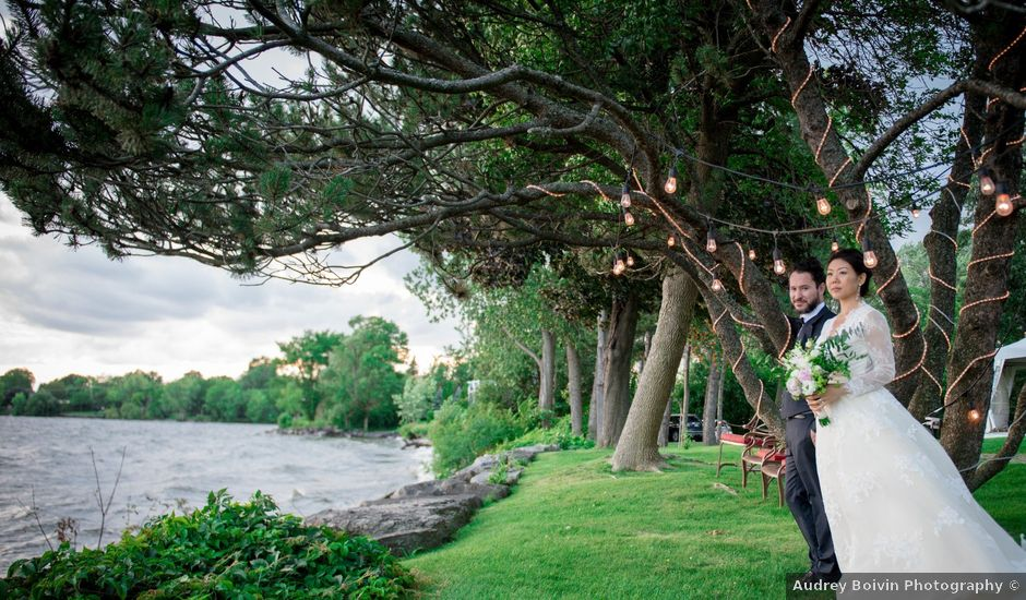 Bandry and Adrien's wedding in Dorval, Quebec