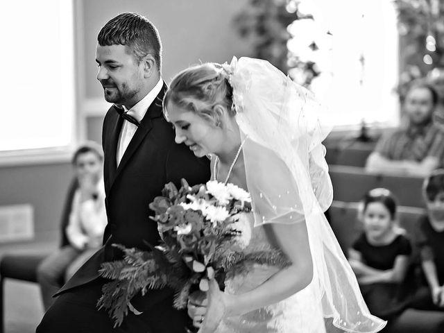 Sam and Maija's wedding in Norquay, Saskatchewan 1
