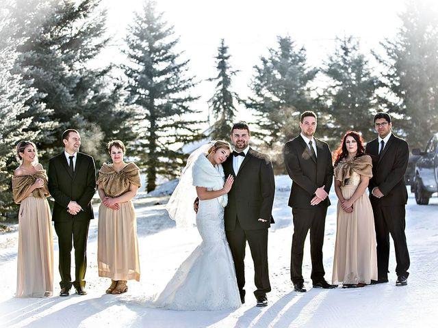 Sam and Maija's wedding in Norquay, Saskatchewan 2