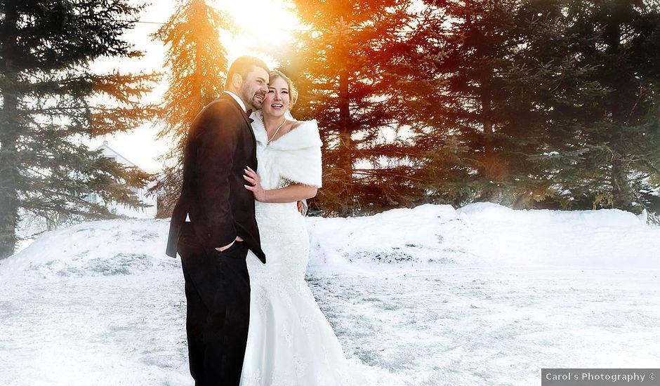 Sam and Maija's wedding in Norquay, Saskatchewan