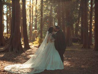 The wedding of Jeff and Emma