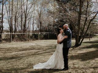 The wedding of Kaylene and David 1