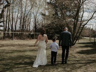 The wedding of Kaylene and David 2