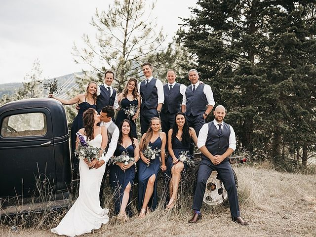Sheldon and Brittany's wedding in Salmon Arm, British Columbia 1