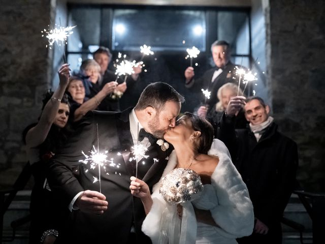 The wedding of Lisa and Josh