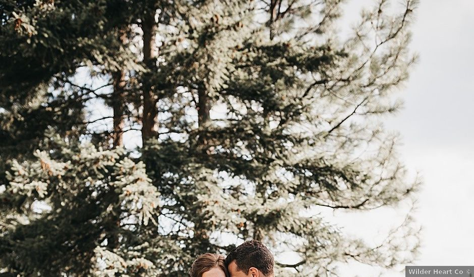 Sheldon and Brittany's wedding in Salmon Arm, British Columbia