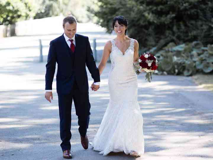 The wedding of Chantelle  and Benoit