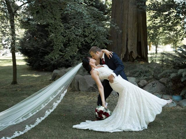 Benoit  and Chantelle 's wedding in Vancouver, British Columbia 2