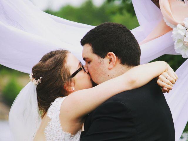 The wedding of Josee  and Joseph