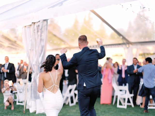 The wedding of Whitney and Mark