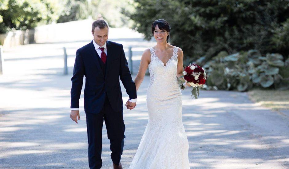 Benoit  and Chantelle 's wedding in Vancouver, British Columbia