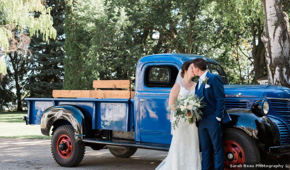 Tim and Kaylee's wedding in Lethbridge, Alberta