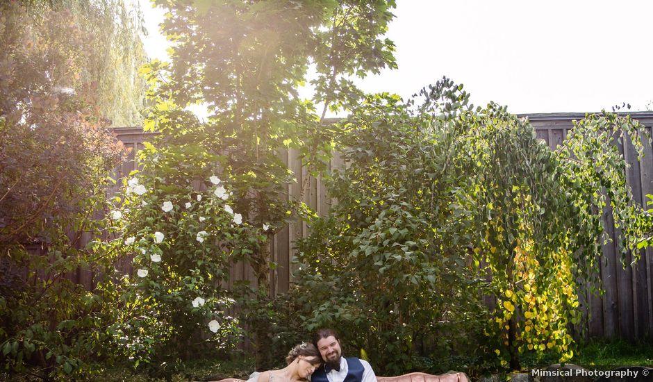 Tyler and Amanda's wedding in Chilliwack, British Columbia
