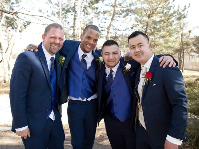 Vincent and Dhalia's wedding in Mississauga, Ontario 41