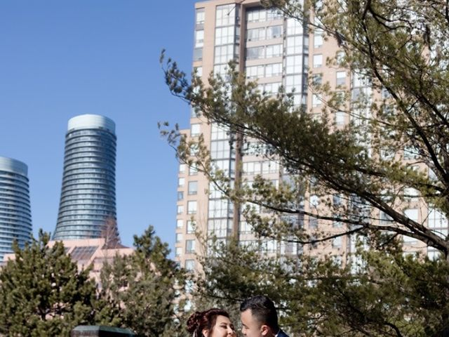 Vincent and Dhalia's wedding in Mississauga, Ontario 43