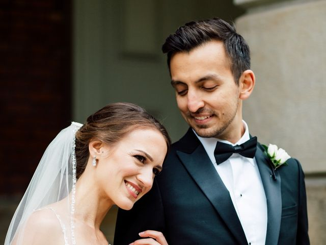 The wedding of Emily and Hassan
