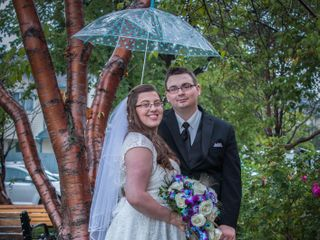 The wedding of Janine and Dylan