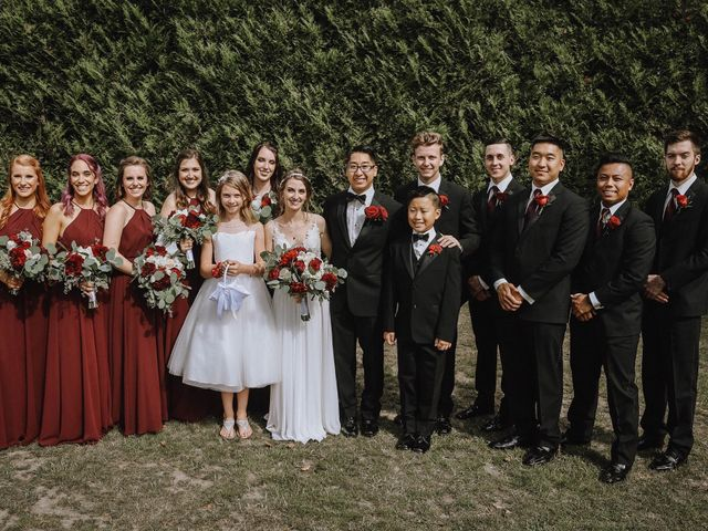 Aimee and Justin's wedding in Vancouver, British Columbia 7