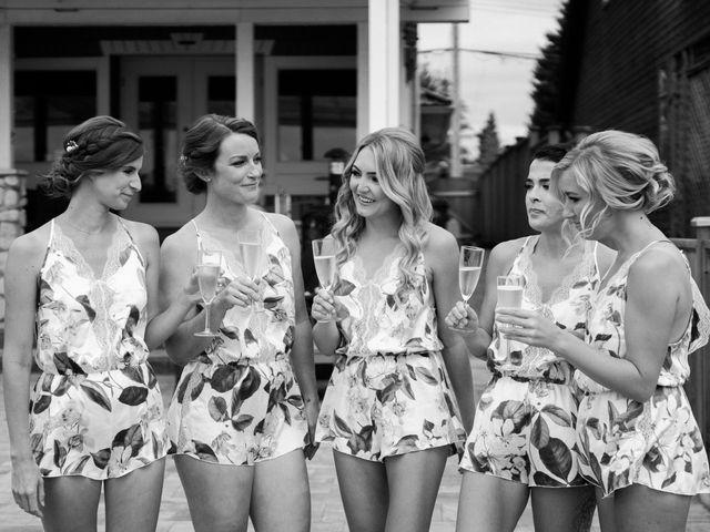Sam and Brittni's wedding in Vancouver, British Columbia 8