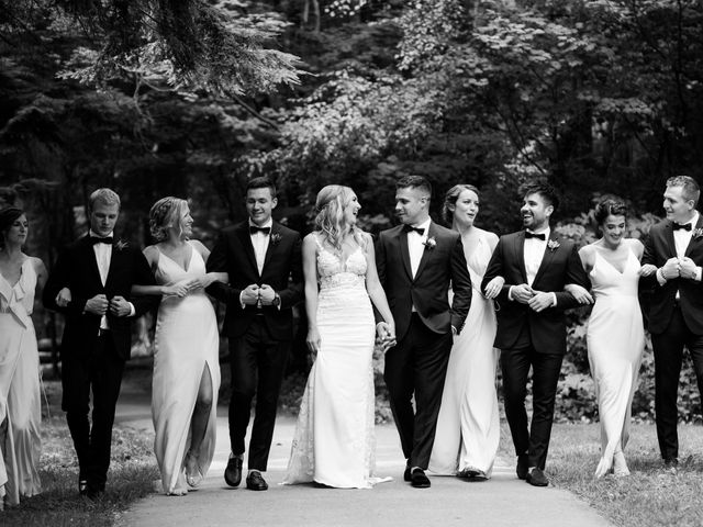 Sam and Brittni's wedding in Vancouver, British Columbia 12