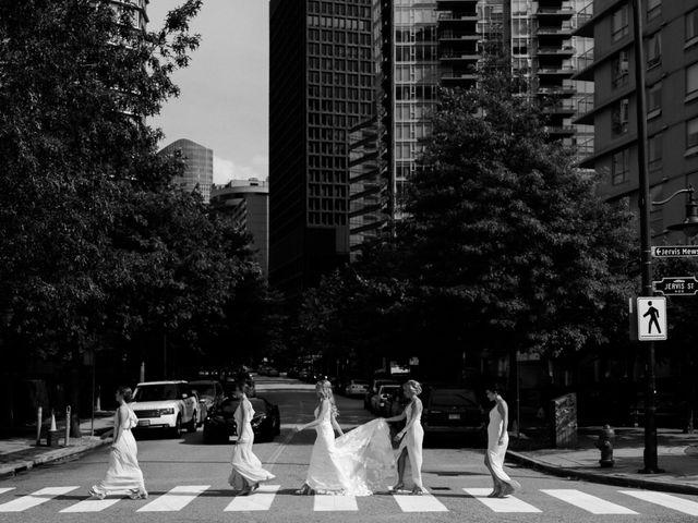 Sam and Brittni's wedding in Vancouver, British Columbia 15