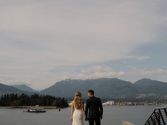 Sam and Brittni's wedding in Vancouver, British Columbia 16