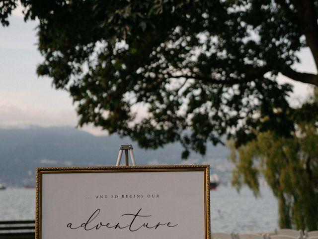 Sam and Brittni's wedding in Vancouver, British Columbia 18