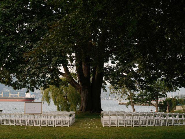 Sam and Brittni's wedding in Vancouver, British Columbia 19